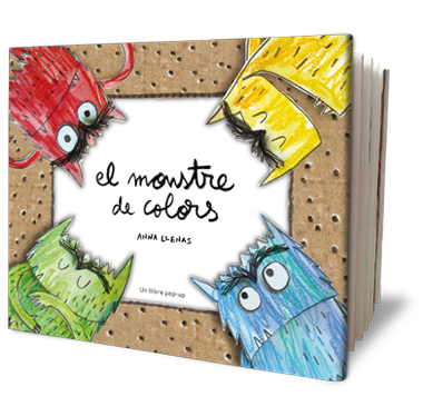 El Monstre de Colors Pop Up- Llibre il·lustrat